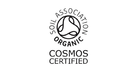 Soil Association Organic COSMOS certified logo